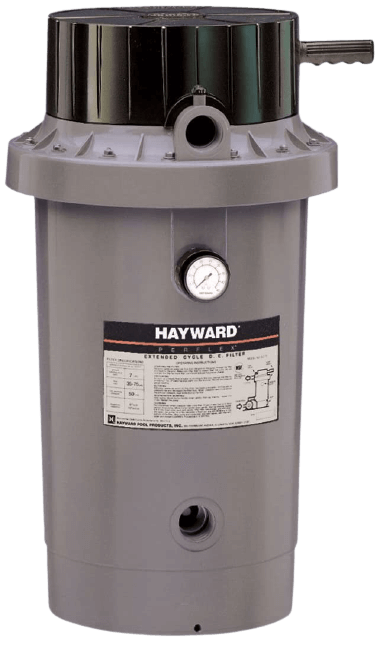 Hayward EC75A perflex extended-cycle d.e. inground pool filter