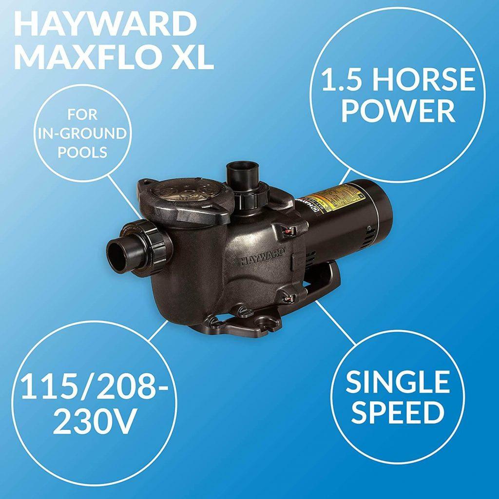 Hayward maxflo xl 1.5 hp