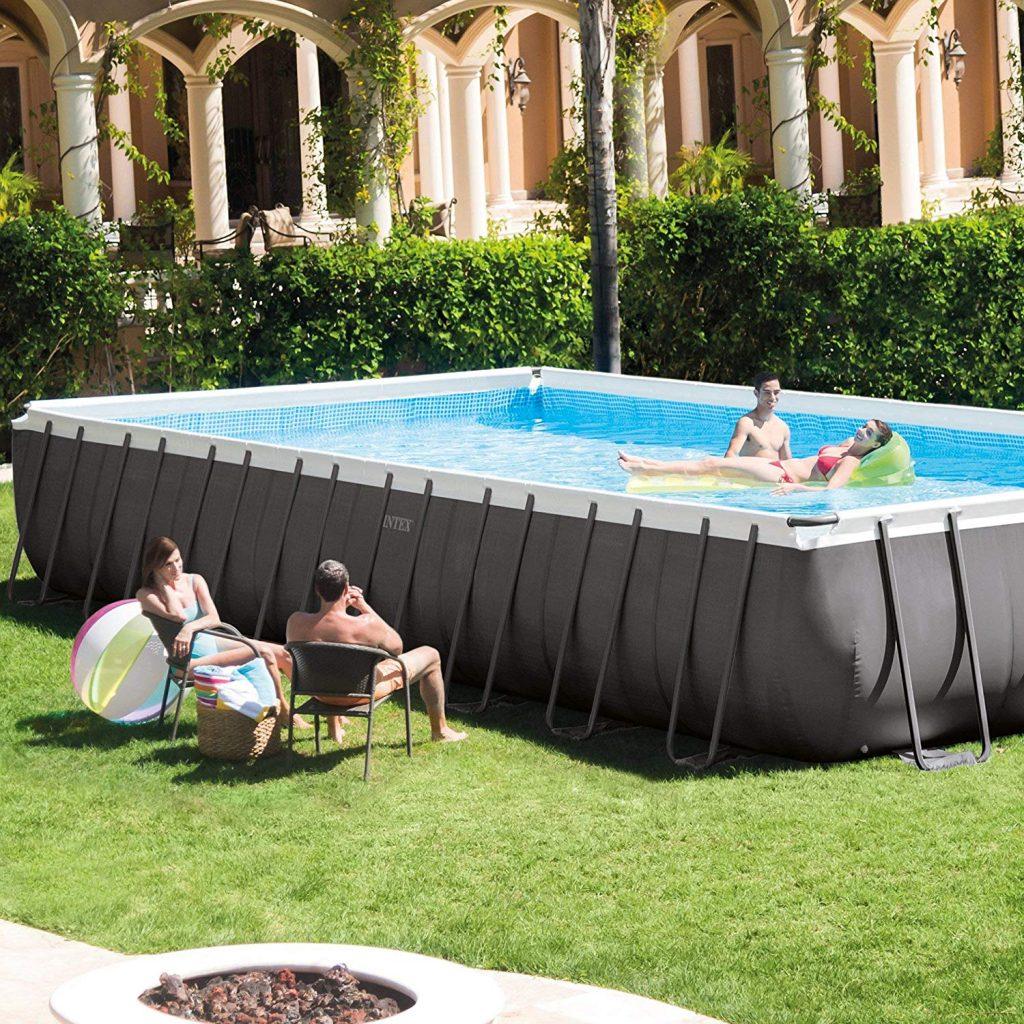 Intex 32ft Ultra Frame Rectangular Pool