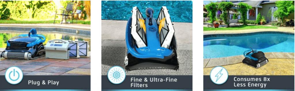 Dolphin Nautilus CC Plus features