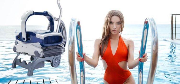 Aquabot Elite Robotic Pool Cleaner Reviews   3 Yr Warranty