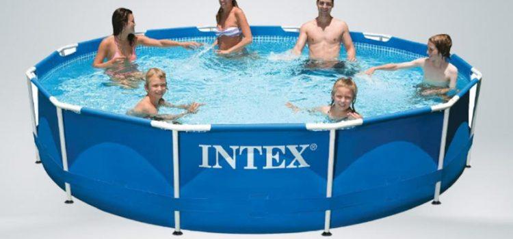 Intex 12-Foot Metal Frame  Pool Set, 30-Inch, Above-ground
