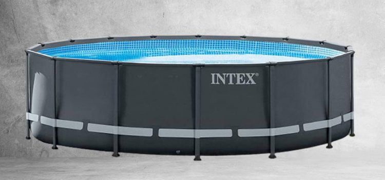 Intex 16ft X 48-in Ultra XTR Pool Set with Sand Filter Pump, Ladder