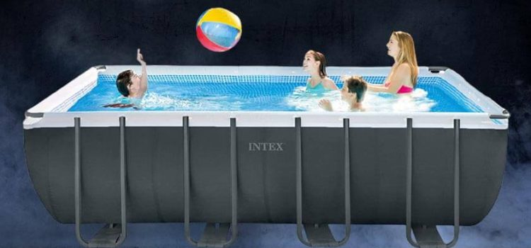 Intex 18 x 52 ultra xtr pool review | Sand Filter, Ladder, Cloth & Cover