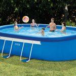 Intex Oval Frame Pool Set