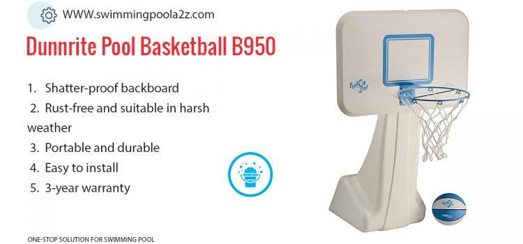 Dunnrite Pool Basketball B950 13.5 inch, PoolSport