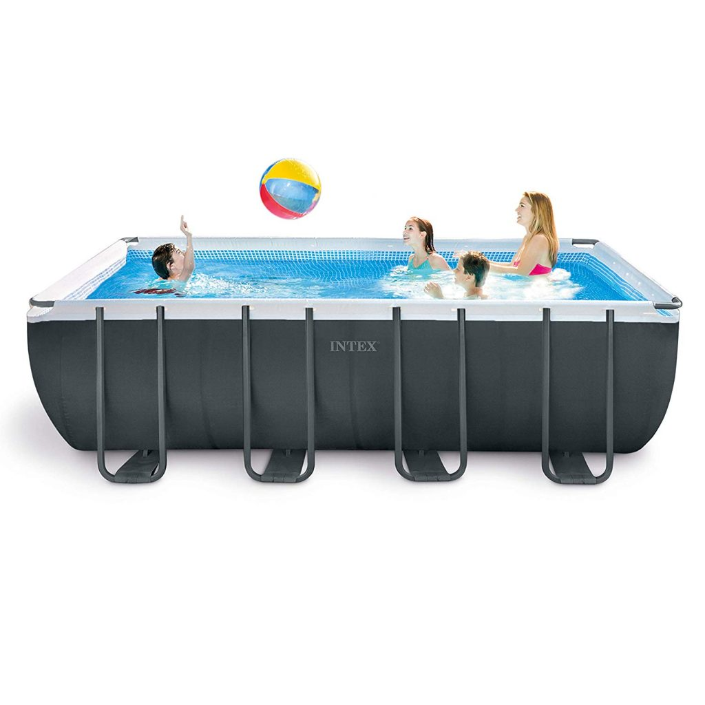 Intex Ultra XTR rectangular pool set