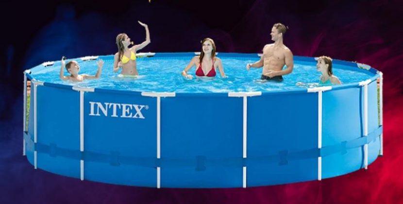 Intex 15 x 48 metal frame pool reviews