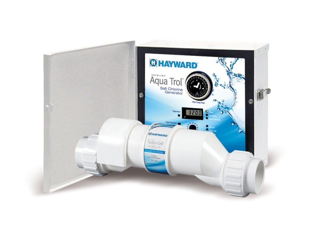 Hayward Goldline Aqua Trol salt chlorinator