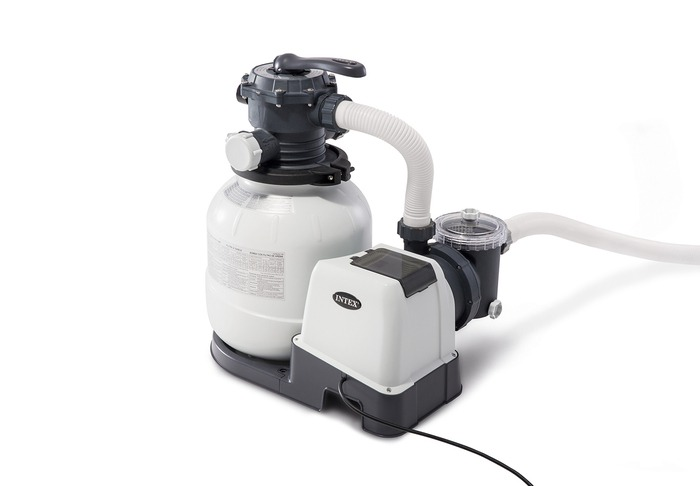 Above ground pool filter Intex pool pump