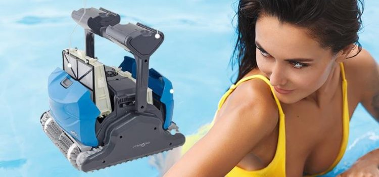 Dolphin Oasis Z5i Robotic Pool Cleaner Review | Pools up to 50 Feet