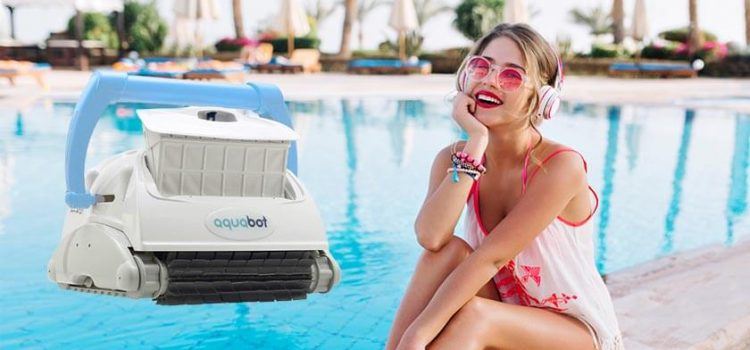 Aquabot breeze IQ robotic pool cleaner review | 60 feet swivel cable