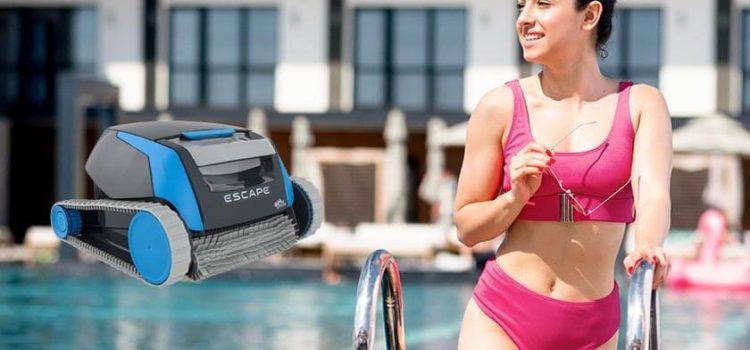 Dolphin Escape robotic pool cleaner reviews | SmartNav 2.0 Scanning