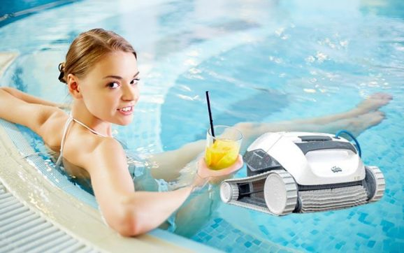 Dolphin e10 automatic robotic pool cleaner review