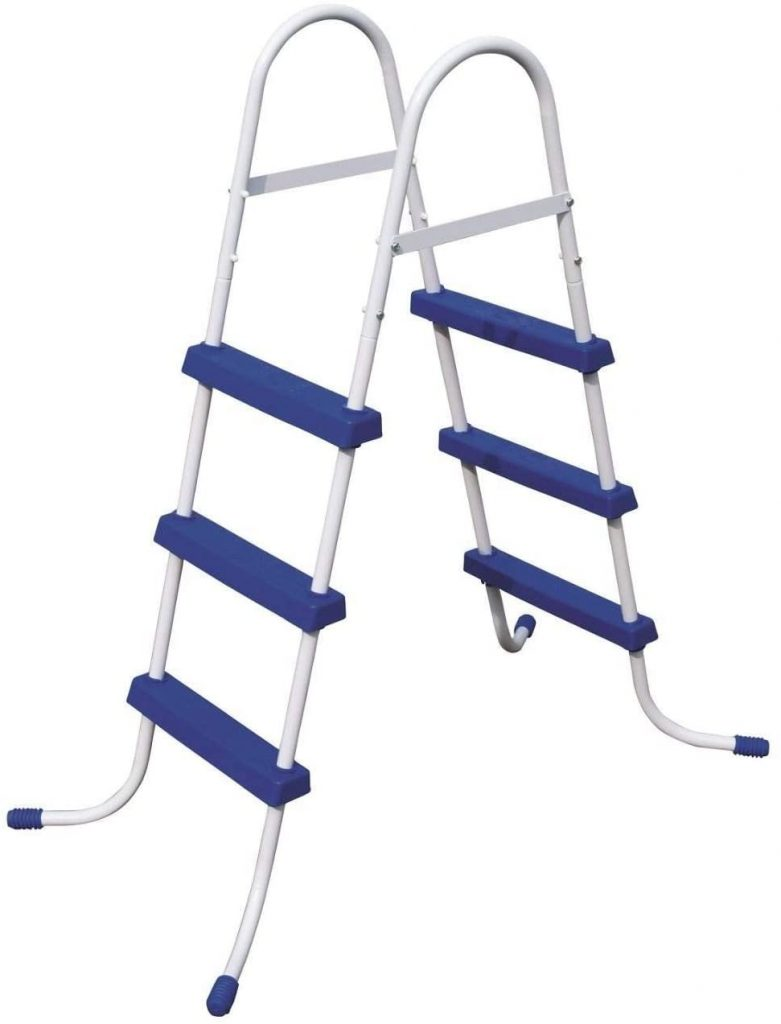 "Bestway 36"" Steel Above Ground Pool Ladder"