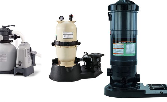 Best above ground pool filter system featured