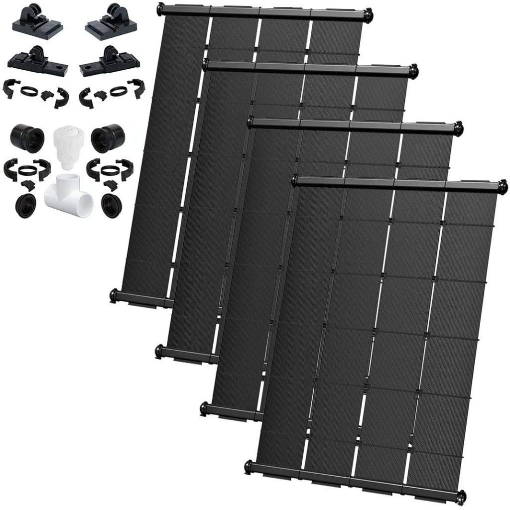 SwimJoy Premium Inground Solar Pool Heater