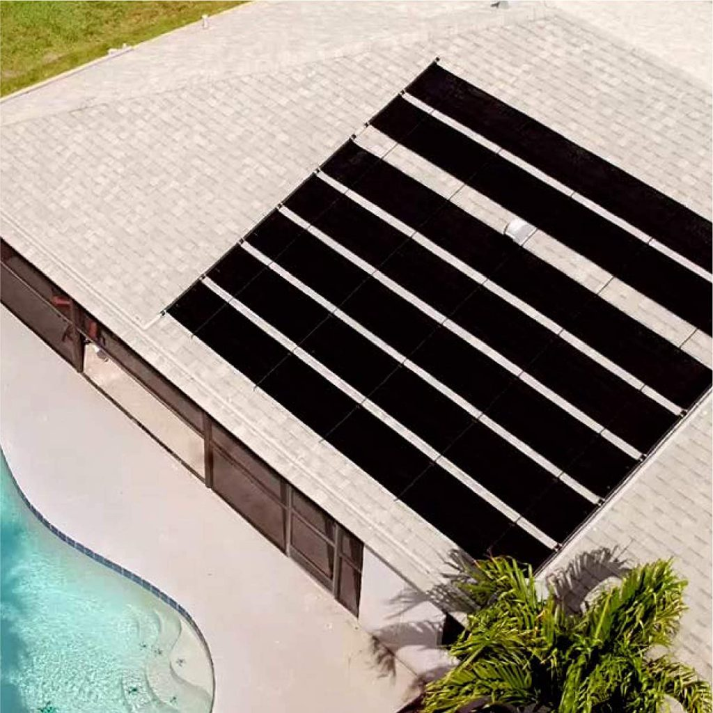 solar pool heater for above ground