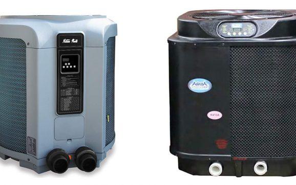 Pool electric heater
