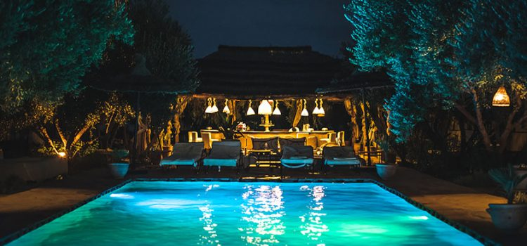 How to install swimming pool led strip lights?