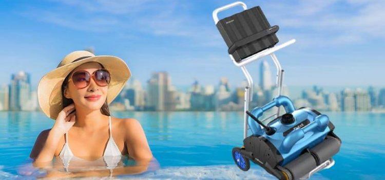 Jingmei Premier Robotic Pool Vacuum Review   15m Cable   50 Feet