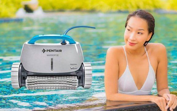 Pentair Warrior SE inground robotic pool cleaner reviews