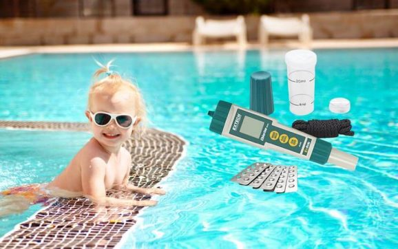Extech CL200 Exstik waterproof chlorine meter
