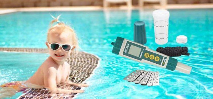 Extech CL200 Exstik waterproof chlorine meter review