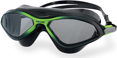 Best swimming pool googles: SEAC DIABLO swimming mask goggles