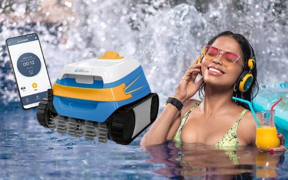 Aqua Products EVO614IQ Evo 614 iQ Automatic Robotic Cleaner