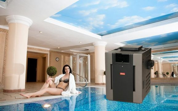 Raypak digital low nox natural gas heater 399k btu