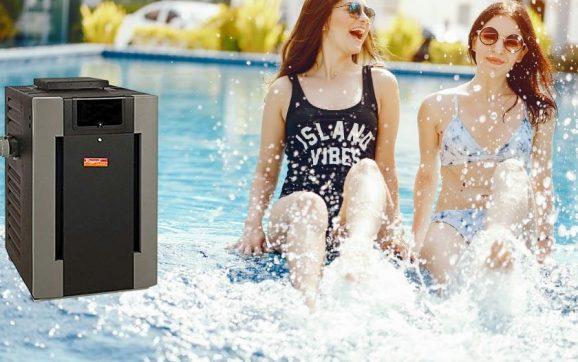 Raypak digital natural gas pool heater 336k BTU review