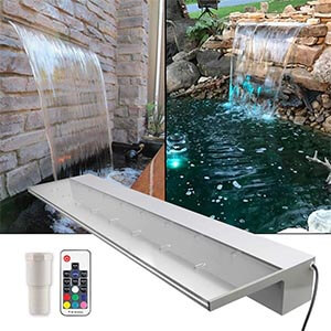 APONUO Lighted LED Pool Fountain