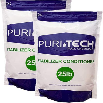 Puri Tech Pool Chemicals 50 lbs Stabilizer