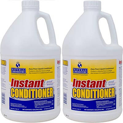 Natural Chemistry 2 Pk Instant Swimming Pool Water Conditioner