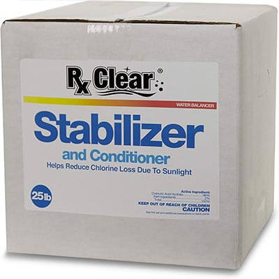 Rx Clear Swimming Pool Stabilizer and Conditioner