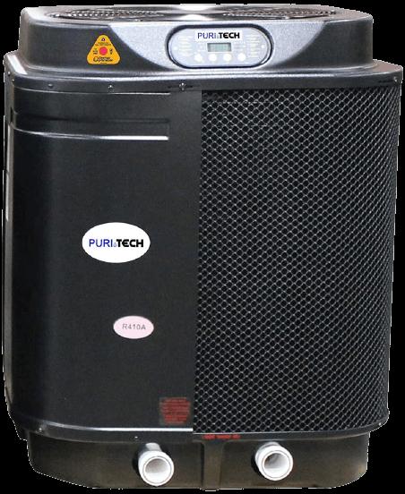 Puri Tech Quiet Heat 127,000BTU Pool Heat Pump