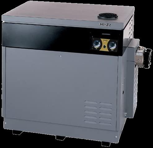 Zodiac HSI Dual Thermostat Bronze Header ASME propane gas heater