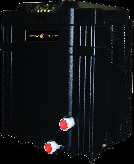 AquaCal SuperQuiet HeatWave pool heater
